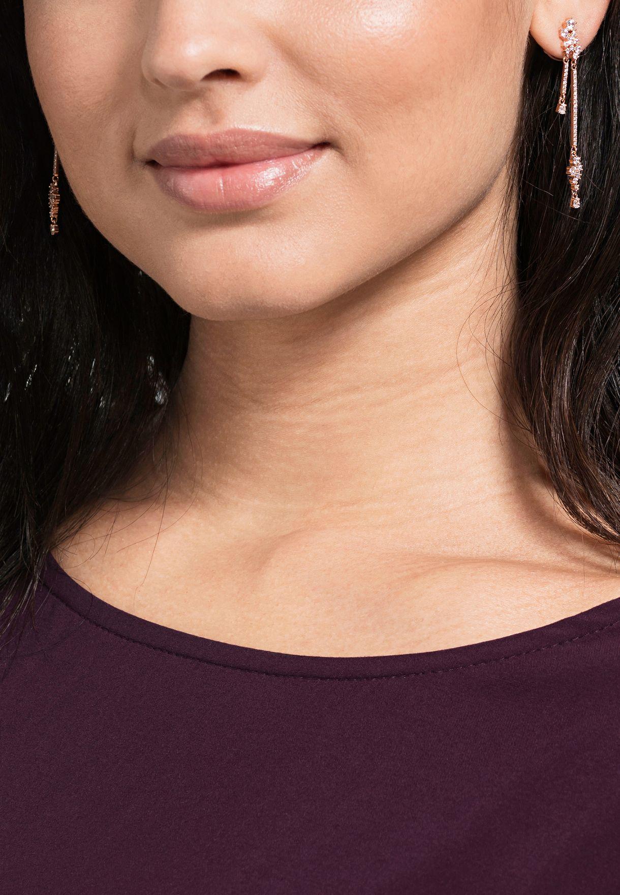Moonsun Chain Drop Earrings