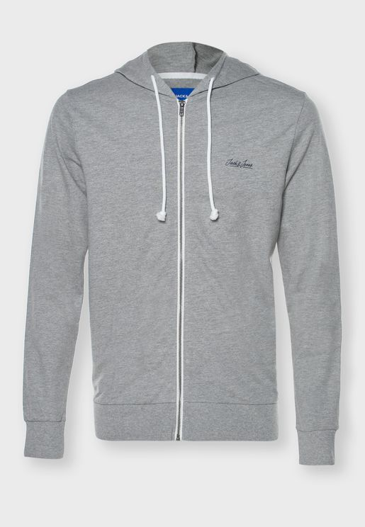 Tristan Zip Through Hoodie
