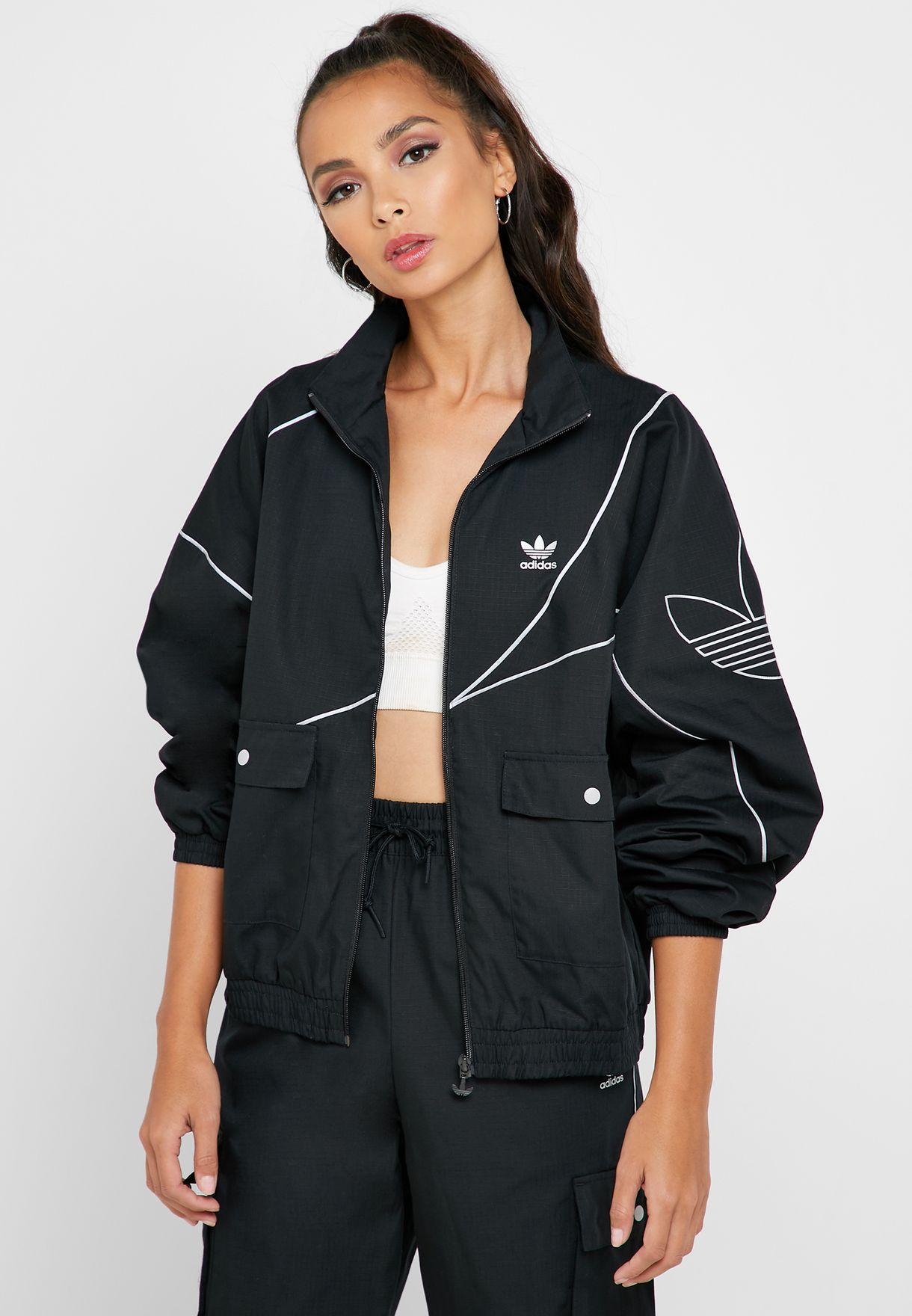 adidas originals reflective jacket
