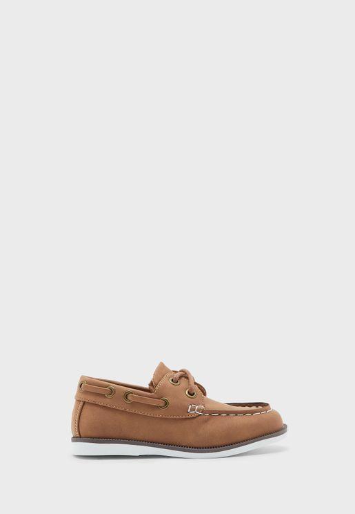 Kids Classic Boat Shoe