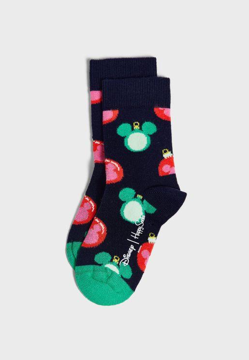 Kids Disney Baublelicious Crew Socks