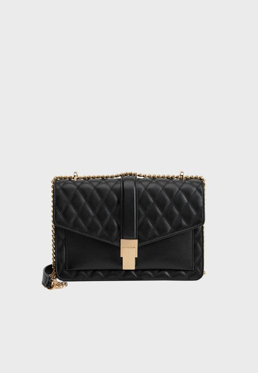 Laurene Quilted Detail Crossbody