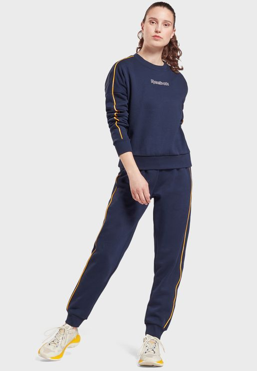 Training Essential Piping Tracksuit