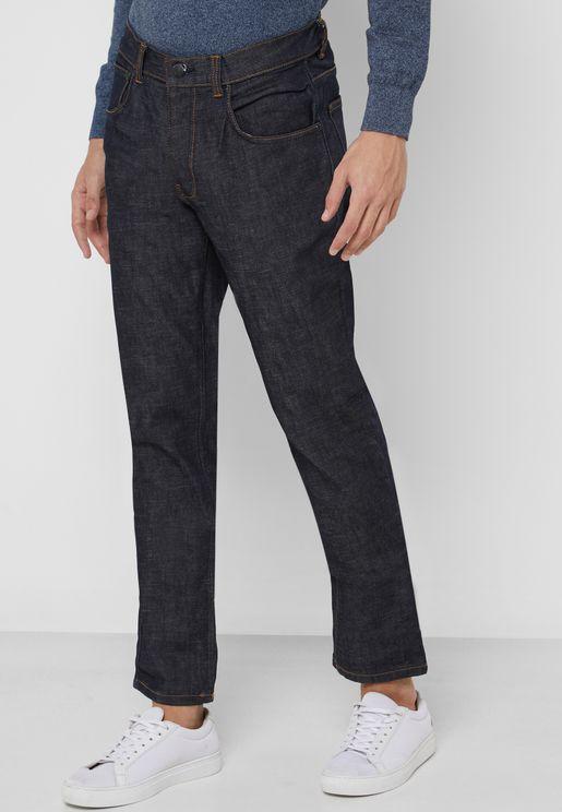 Raw Slim Fit Jeans