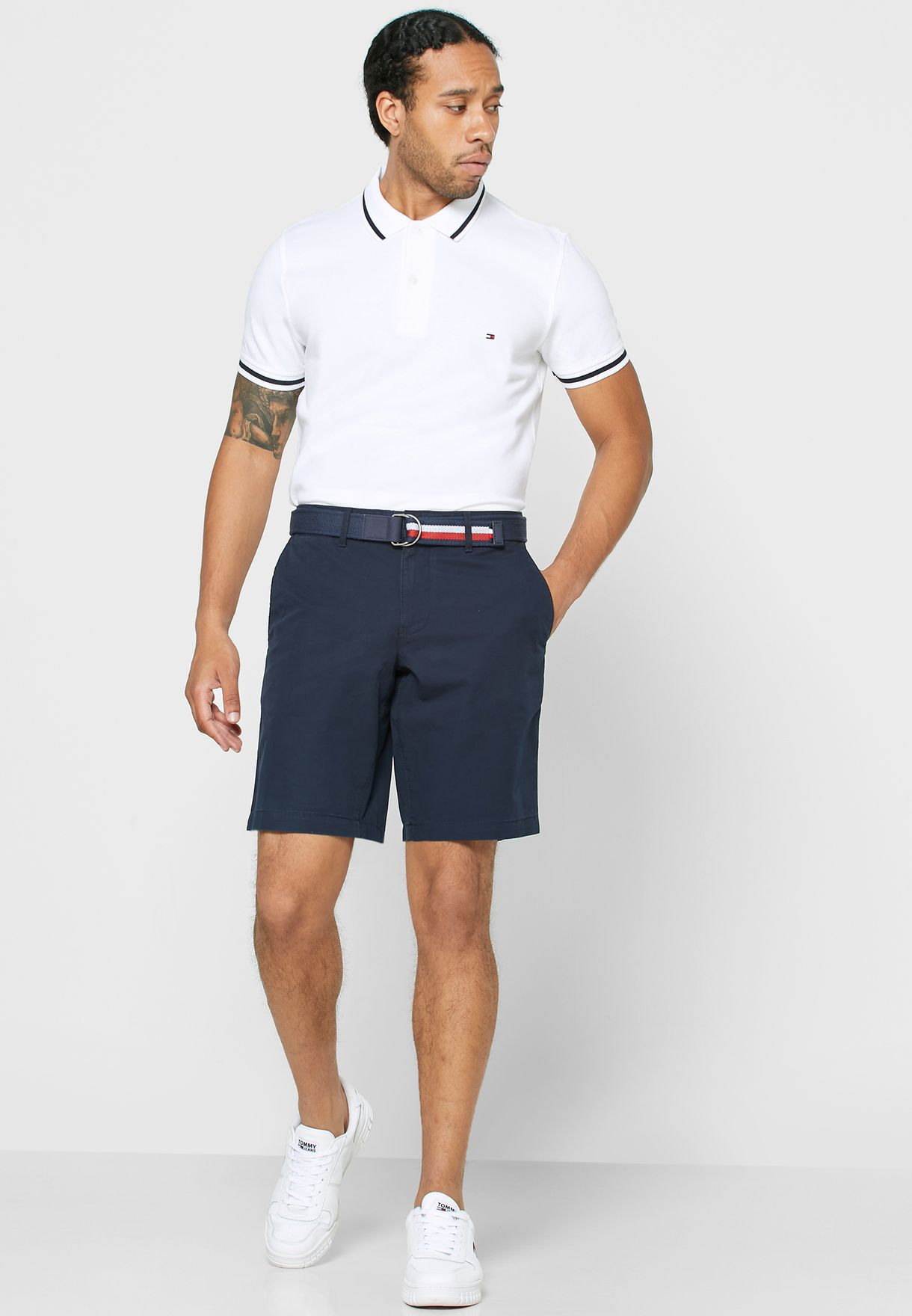 Brooklyn Belted Shorts