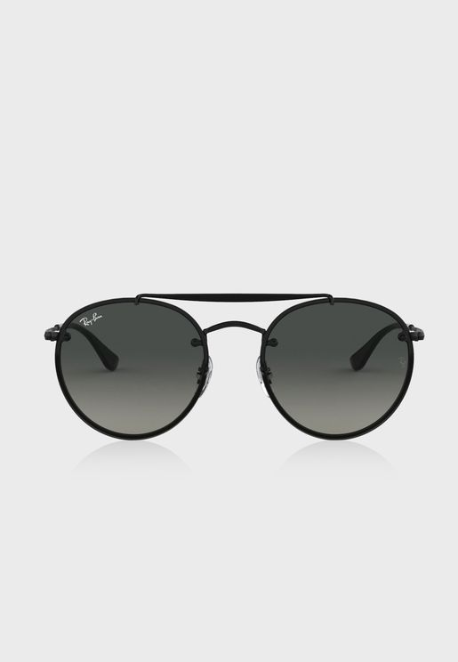 0RB3614N Blaze Round Bridge Sunglasses