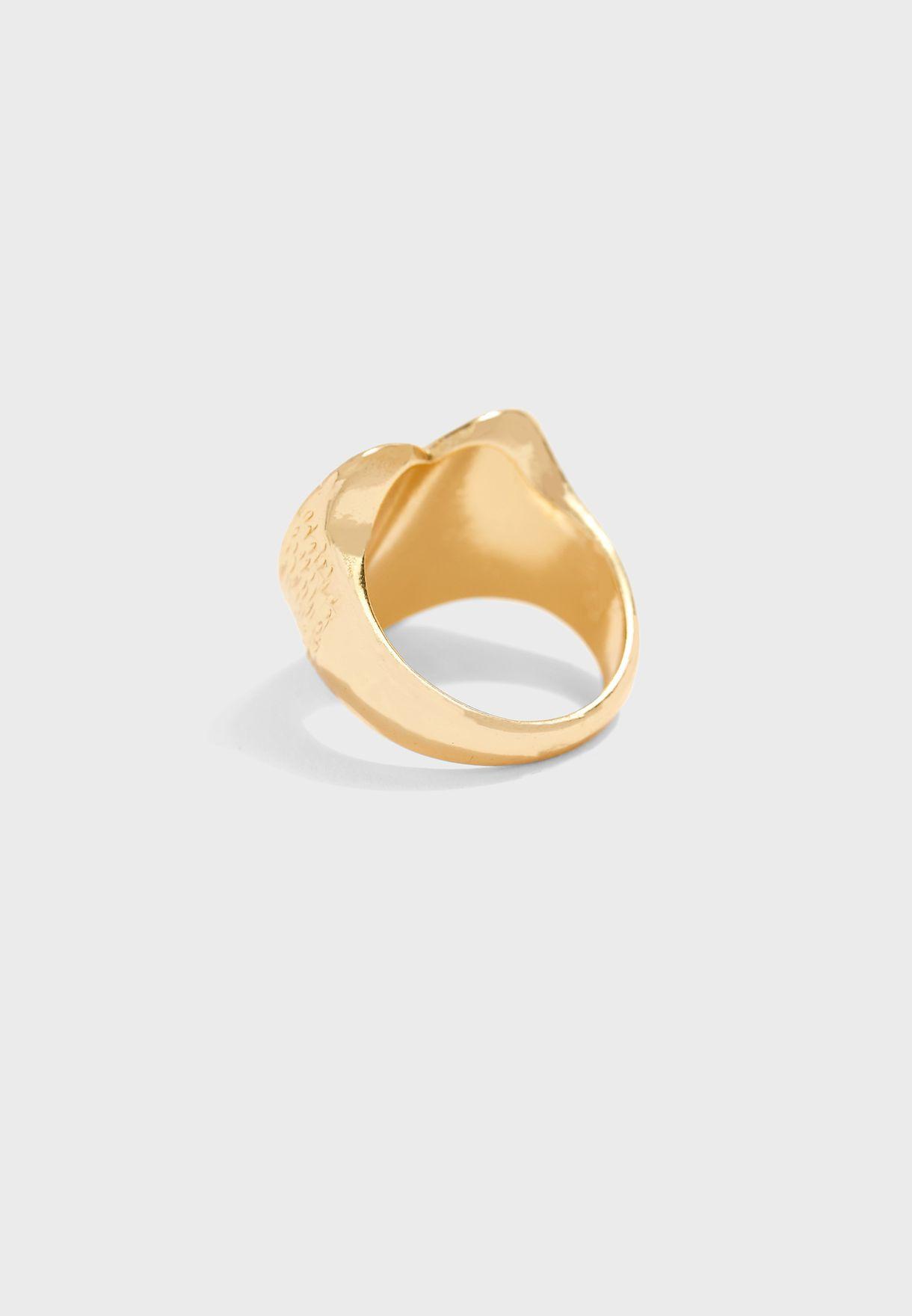 خاتم شكل قلب