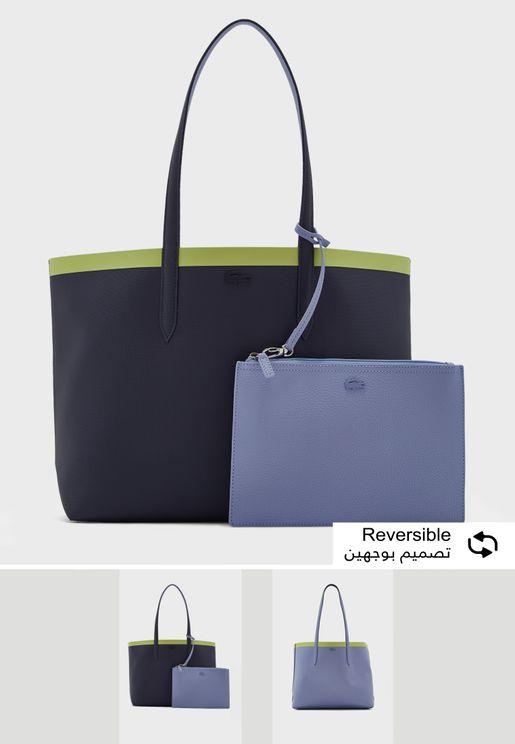 شنطة مع حقيبة صغيرة