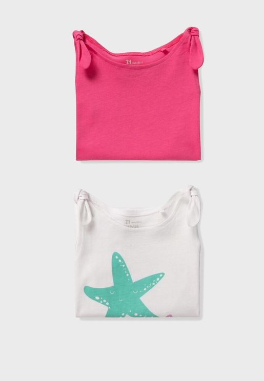 Infant  2 Pack Graphic Top