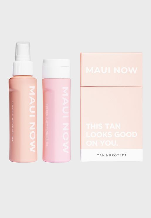 Tan & Protect Set