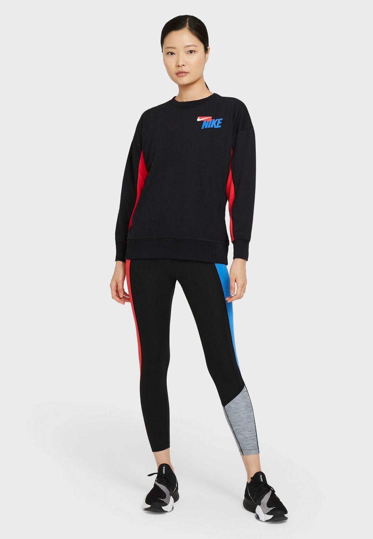 Dri-FIT Fleece Colour Block Sweatshirt