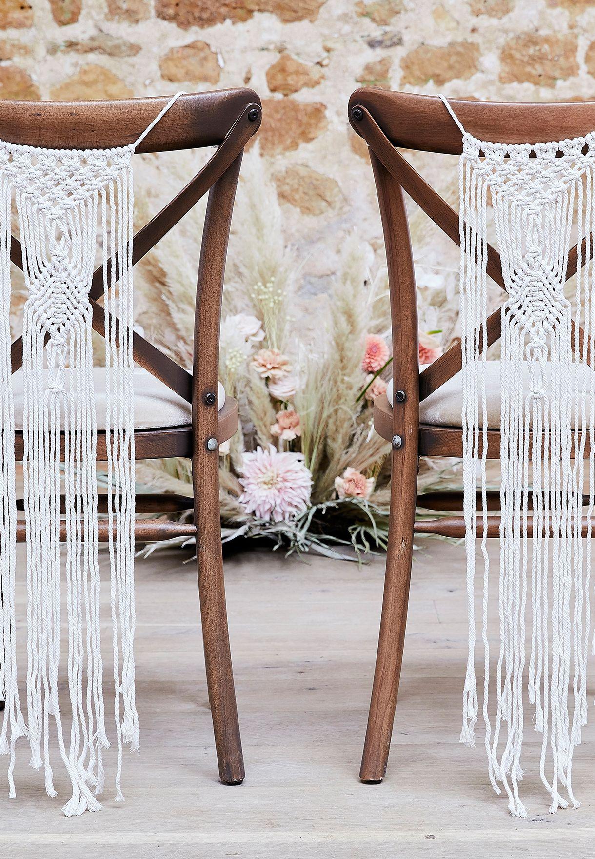 مكرمية للكرسي