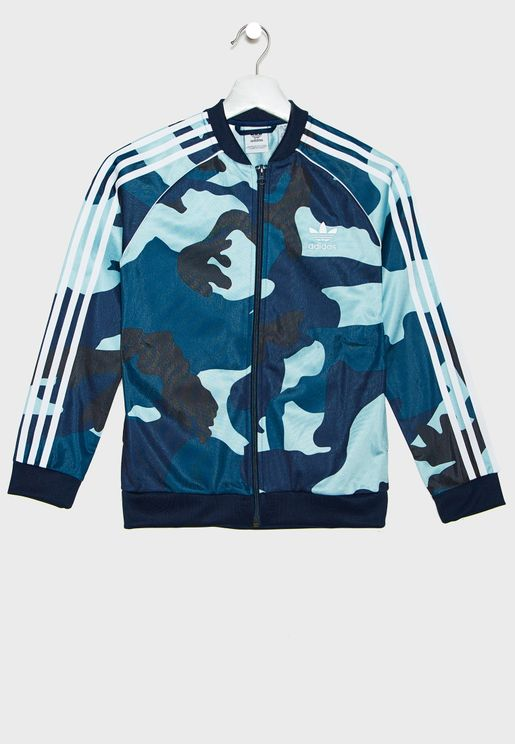 Youth Superstar Camo Track Jacket