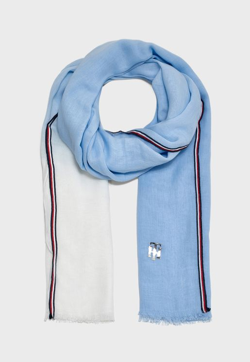 Chic Color Block Scarf