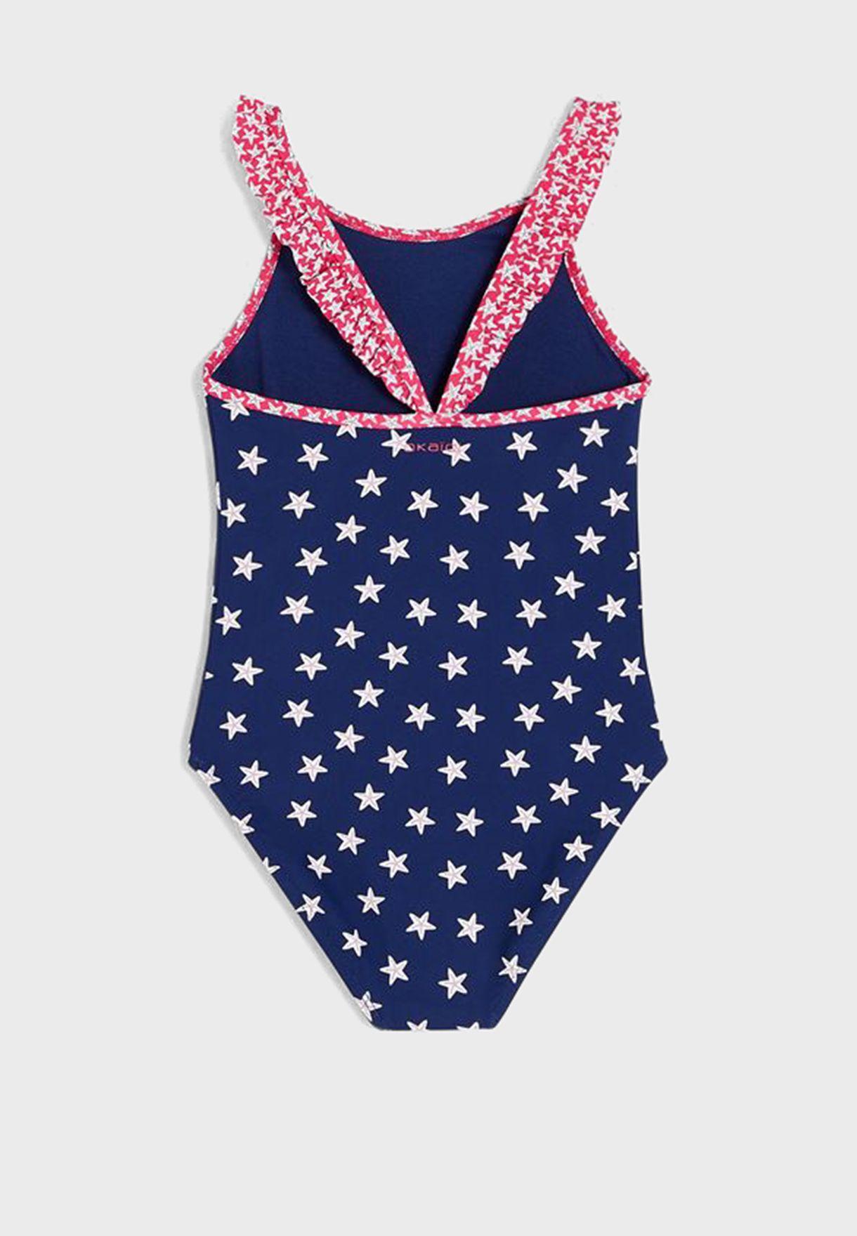 Kids Star Print Swimsuit
