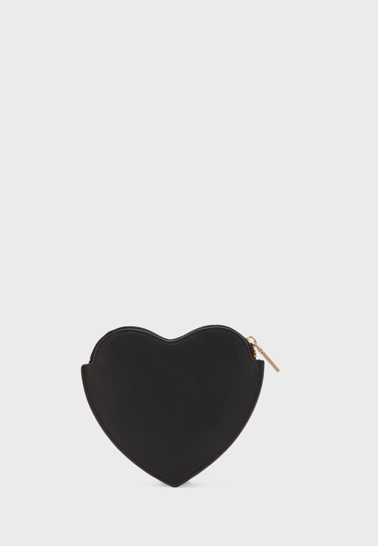محفظة قلب بجيب داخلي