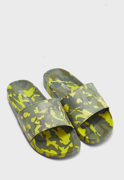 Finley Camo Slides