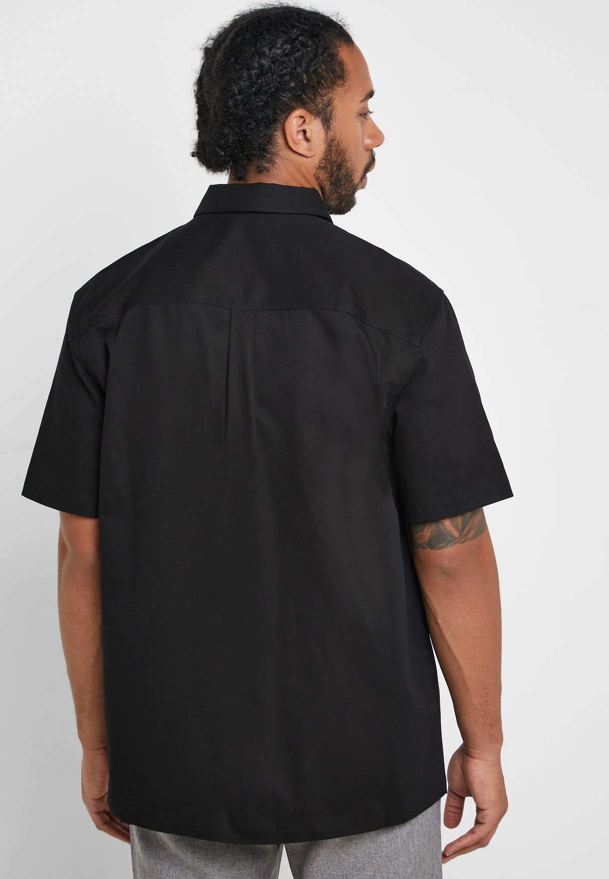 Pocket Detail Relaxed Fit Shirt