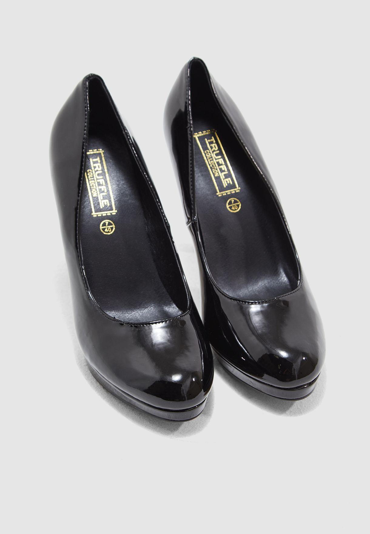 Platform Court Shoe