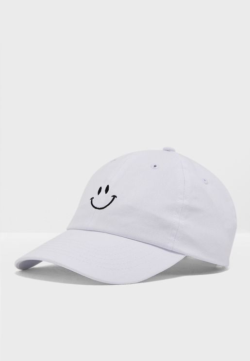 18a99a7a Smile Face Embroidered Cap. Forever 21. Smile Face Embroidered Cap. 6.11  BHD. Select ...