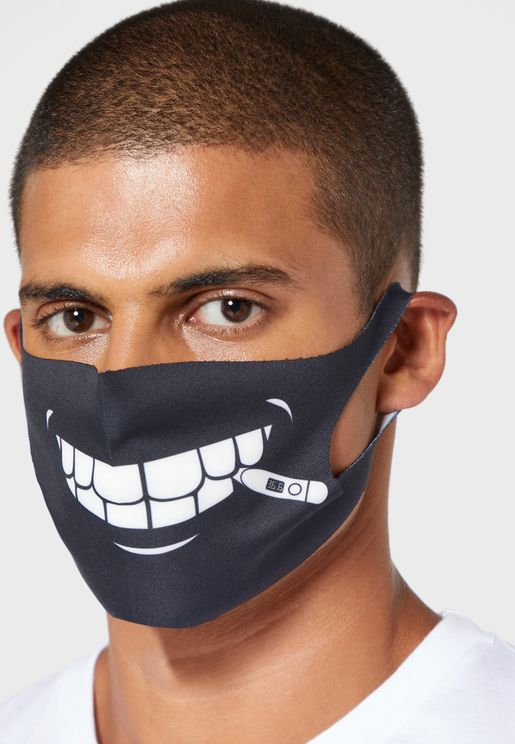 Printed Neoprene Washable Mask