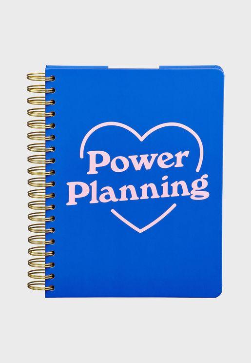 دفتر تخطيط حلزوني