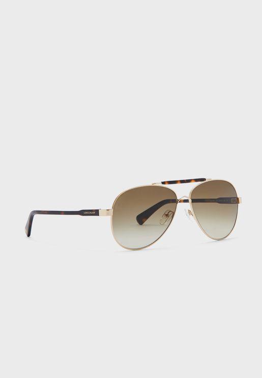 Lo109S Oval Shape Sunglasses