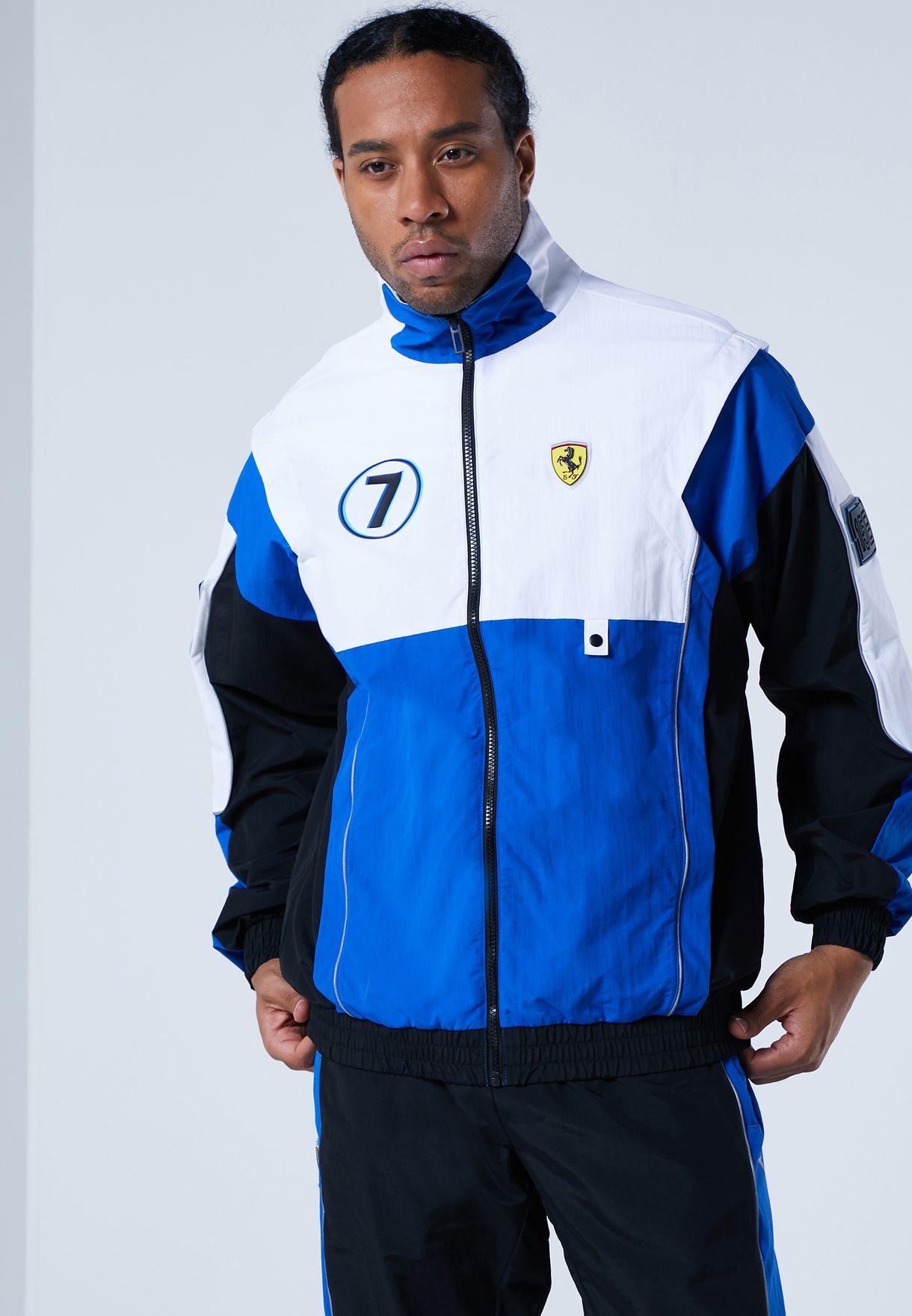 Buy Puma Blue Ferrari Race Street Woven Jacket For Men In Manama Other Cities 59793902