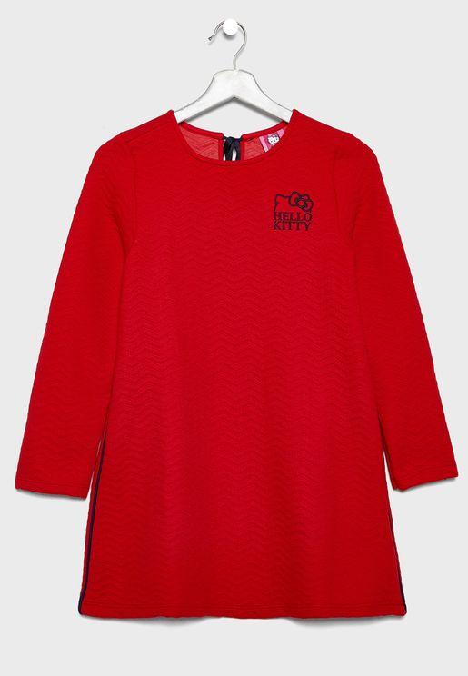 فستان اطفال مبطن
