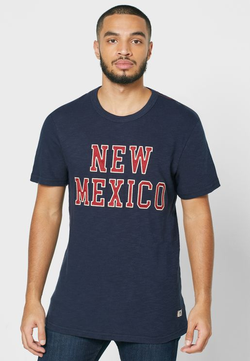 New Mexico Crew Neck T-Shirt