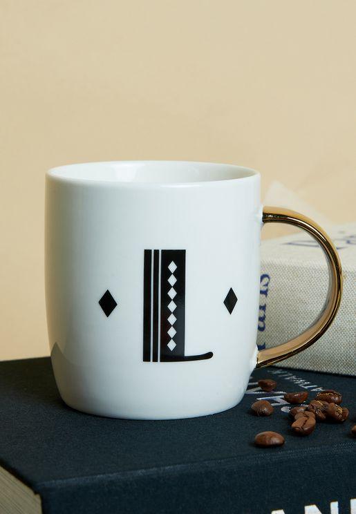 Mimo Monogram Mug - L