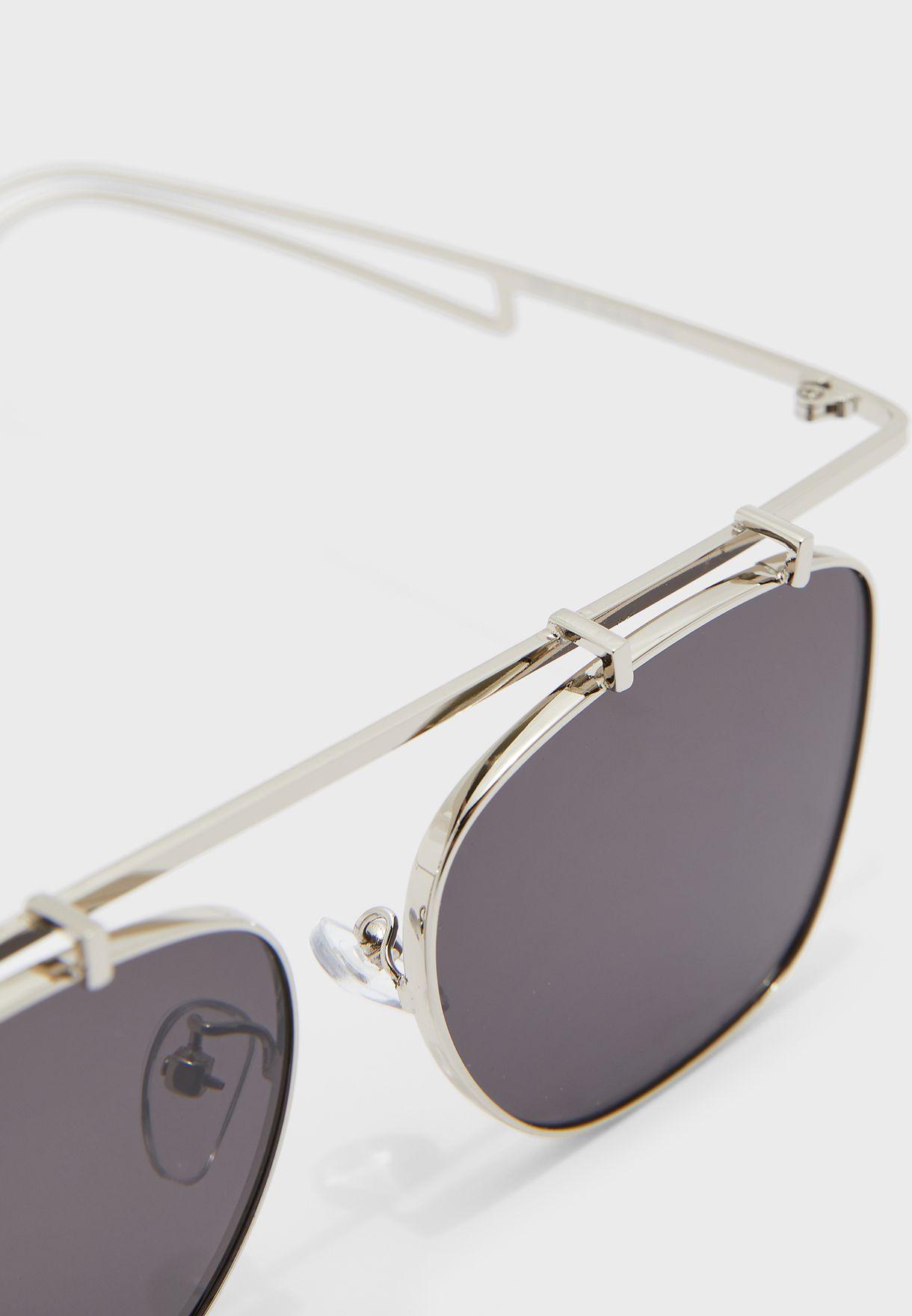 نظارة شمسية مربعة كاجوال