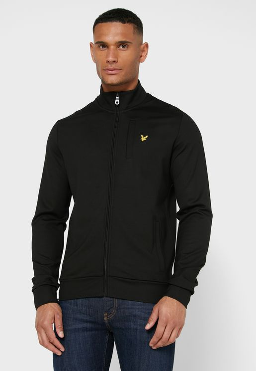 Logo Zip Through Jacket