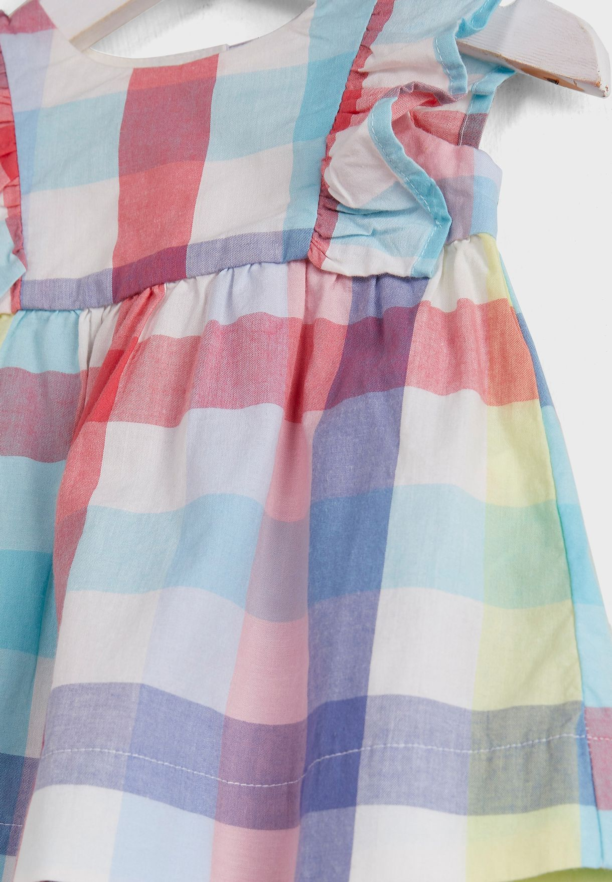Infant Checked Dress