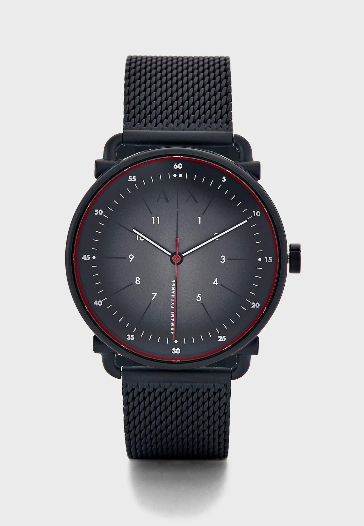 AX2902 Rocco Analog Watch