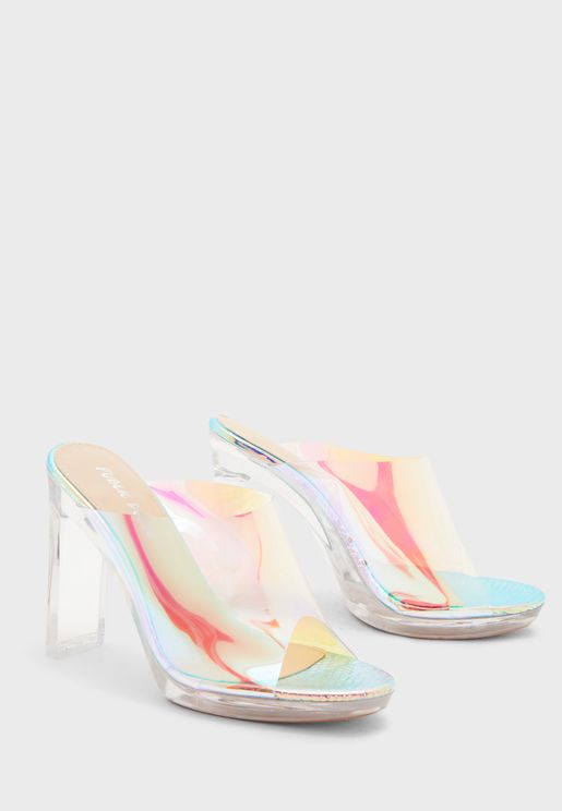 Honey Sequin Strap Sandal - Multicolor