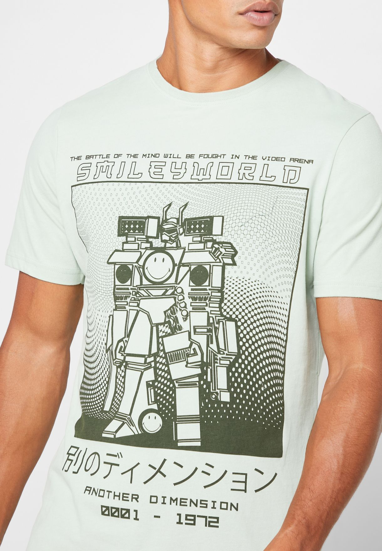Another Dimension Crew Neck T-Shirt