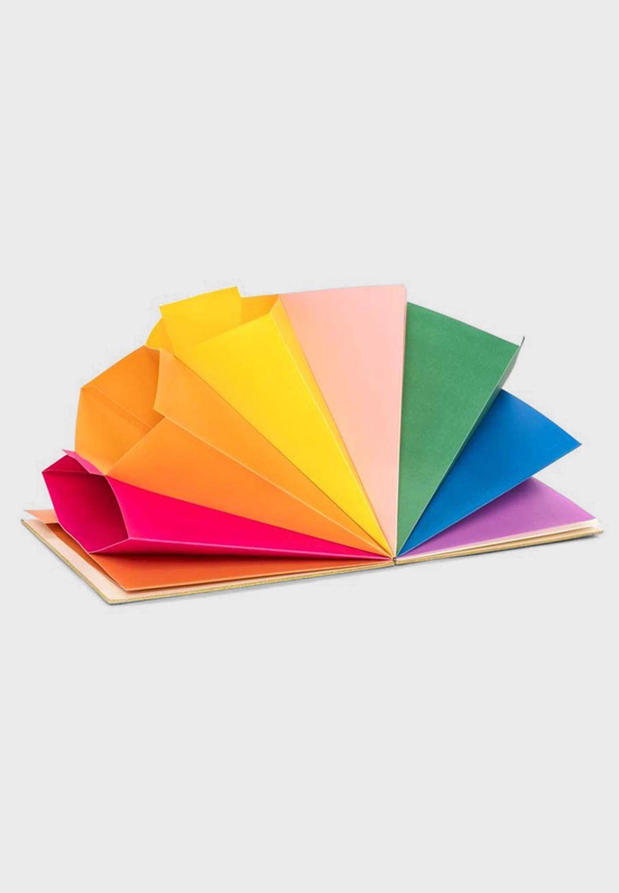 Gold Glitter File Folder