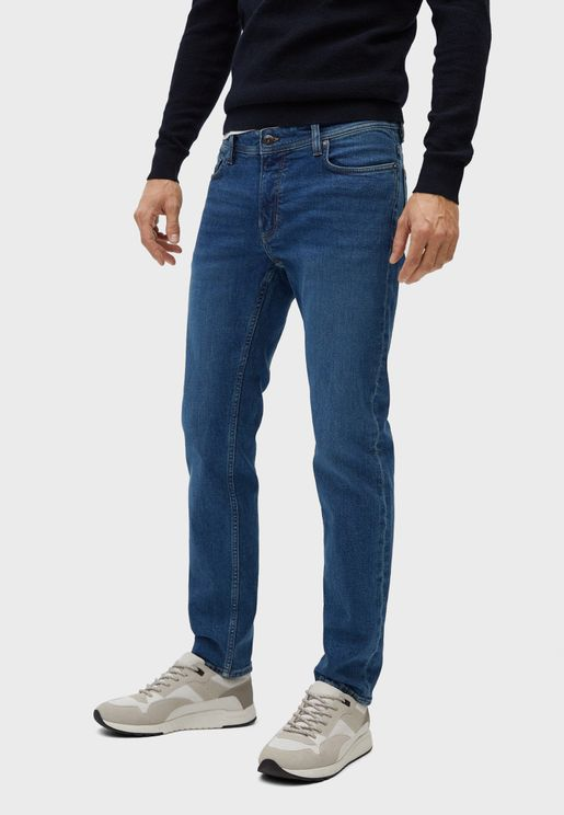 جينز سليم فت بجيوب