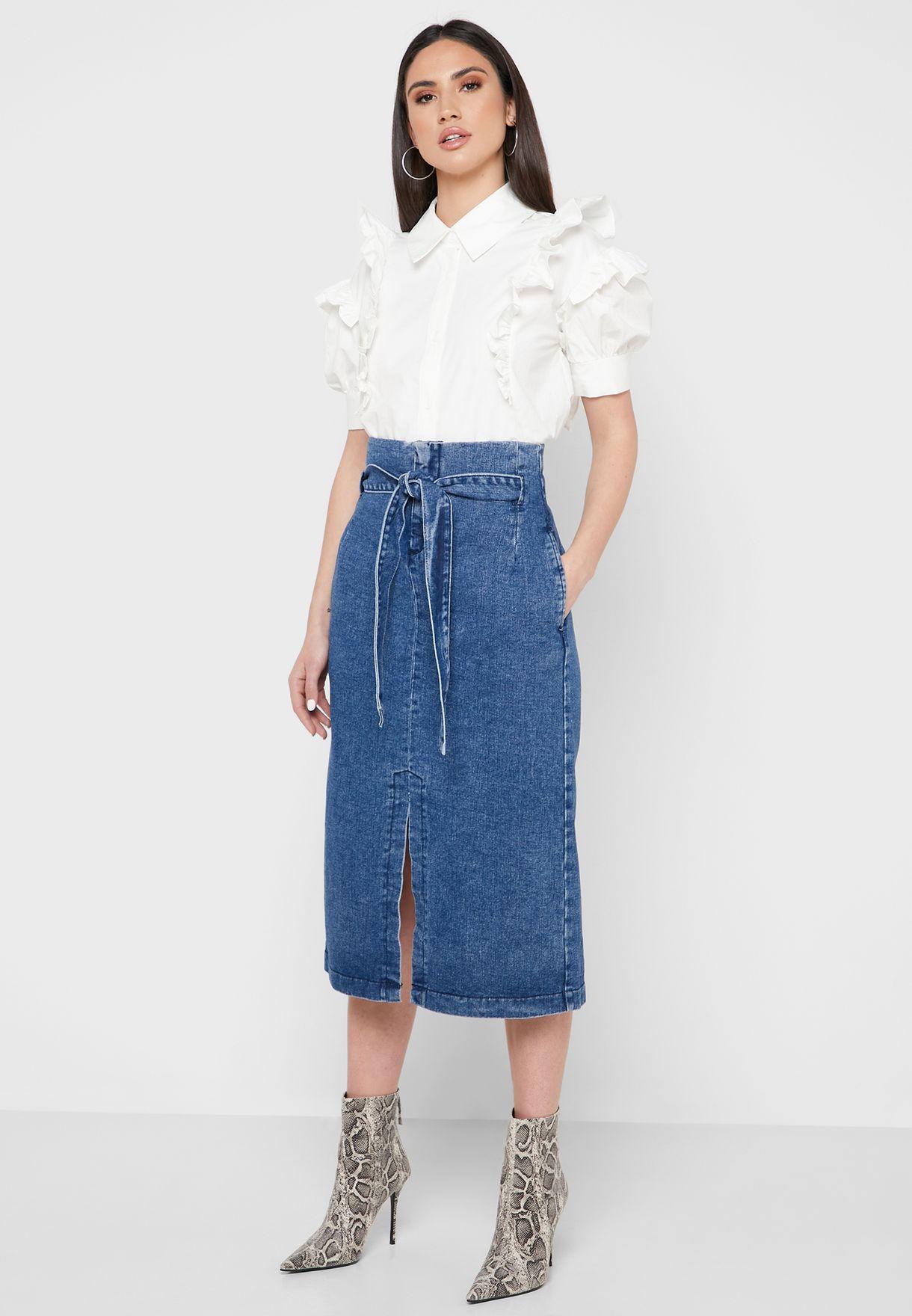 تنورة جينز