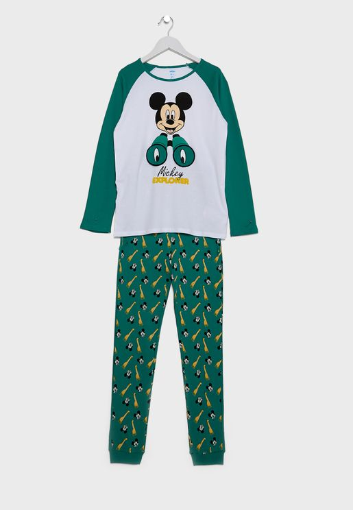 Kids Mickey Mouse Pyjama Set
