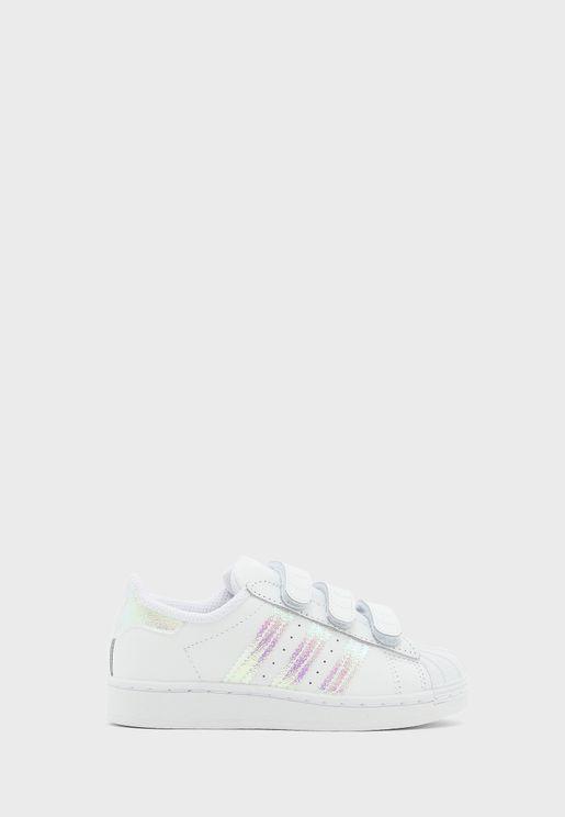 حذاء سوبرستار سي أف للاطفال