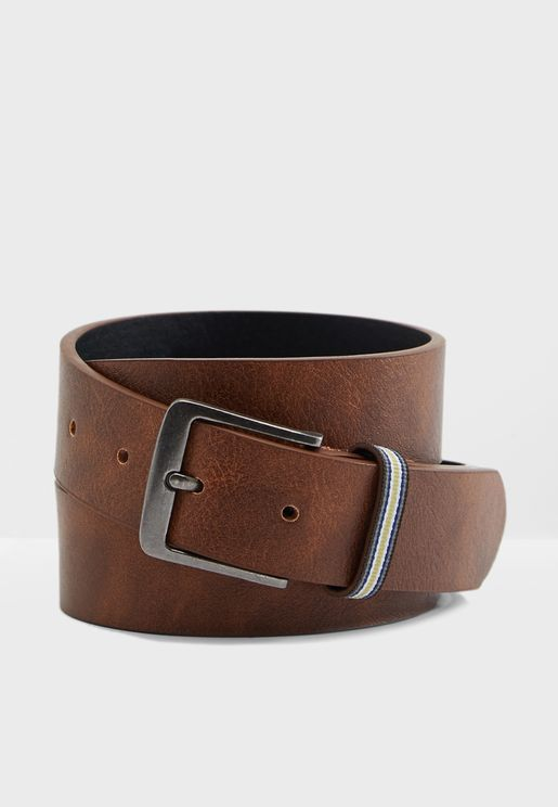 Stripe Keeper Belt