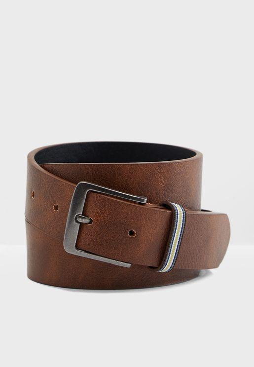 Stripe Keeper Belt