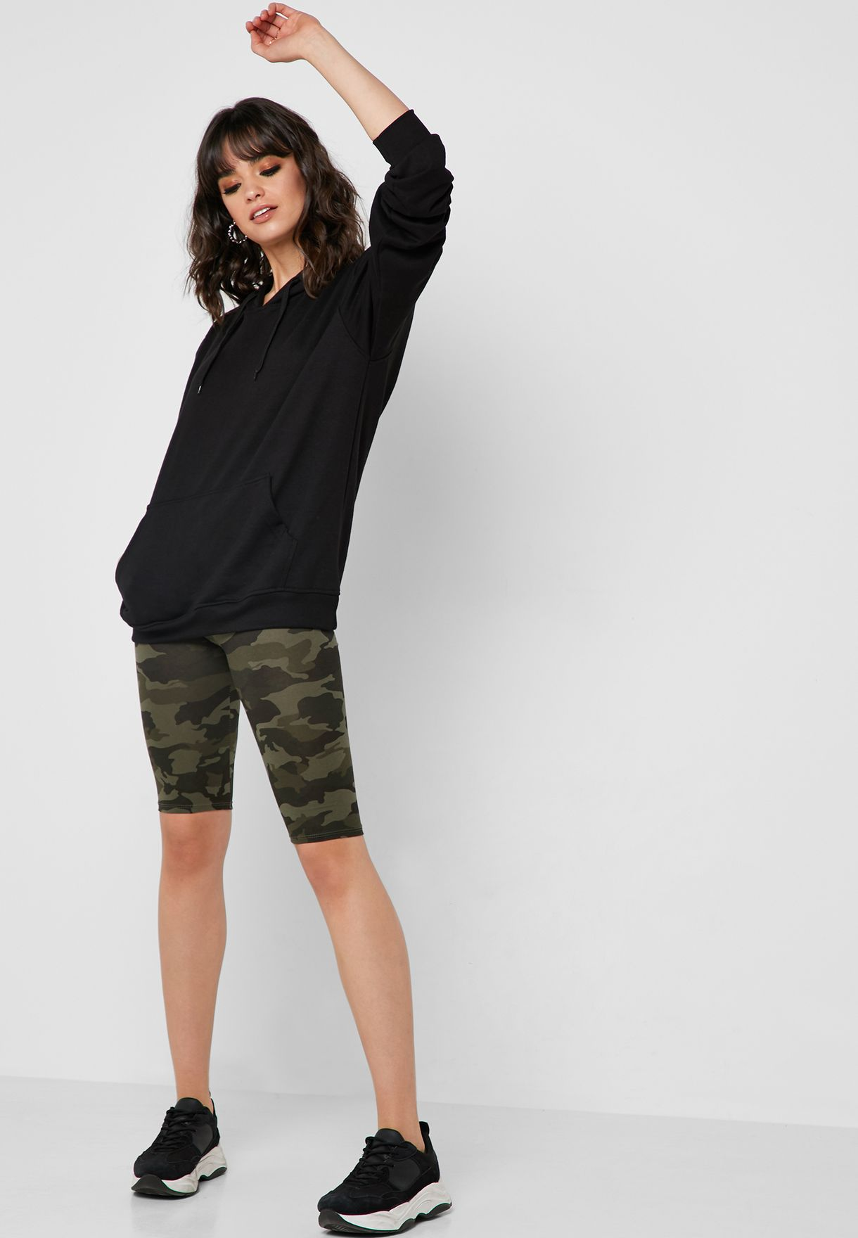 Camo Cycling Shorts