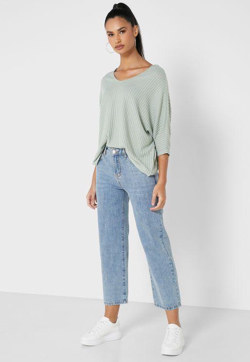 بنطال جينز مام