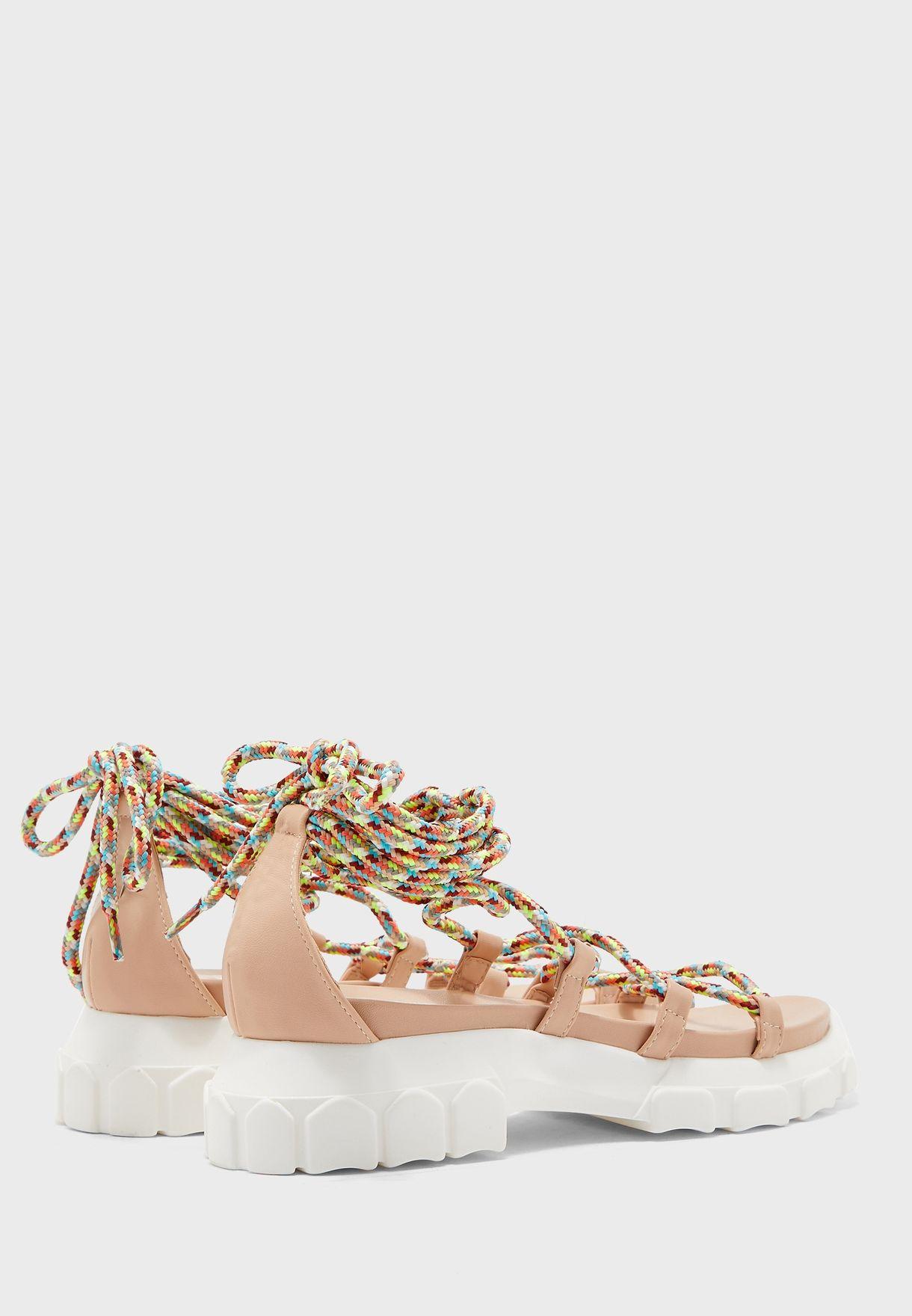 Dynamic Flat Sandal