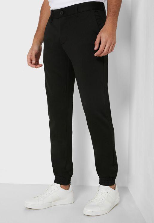 Mark Cuffed Slim Pants