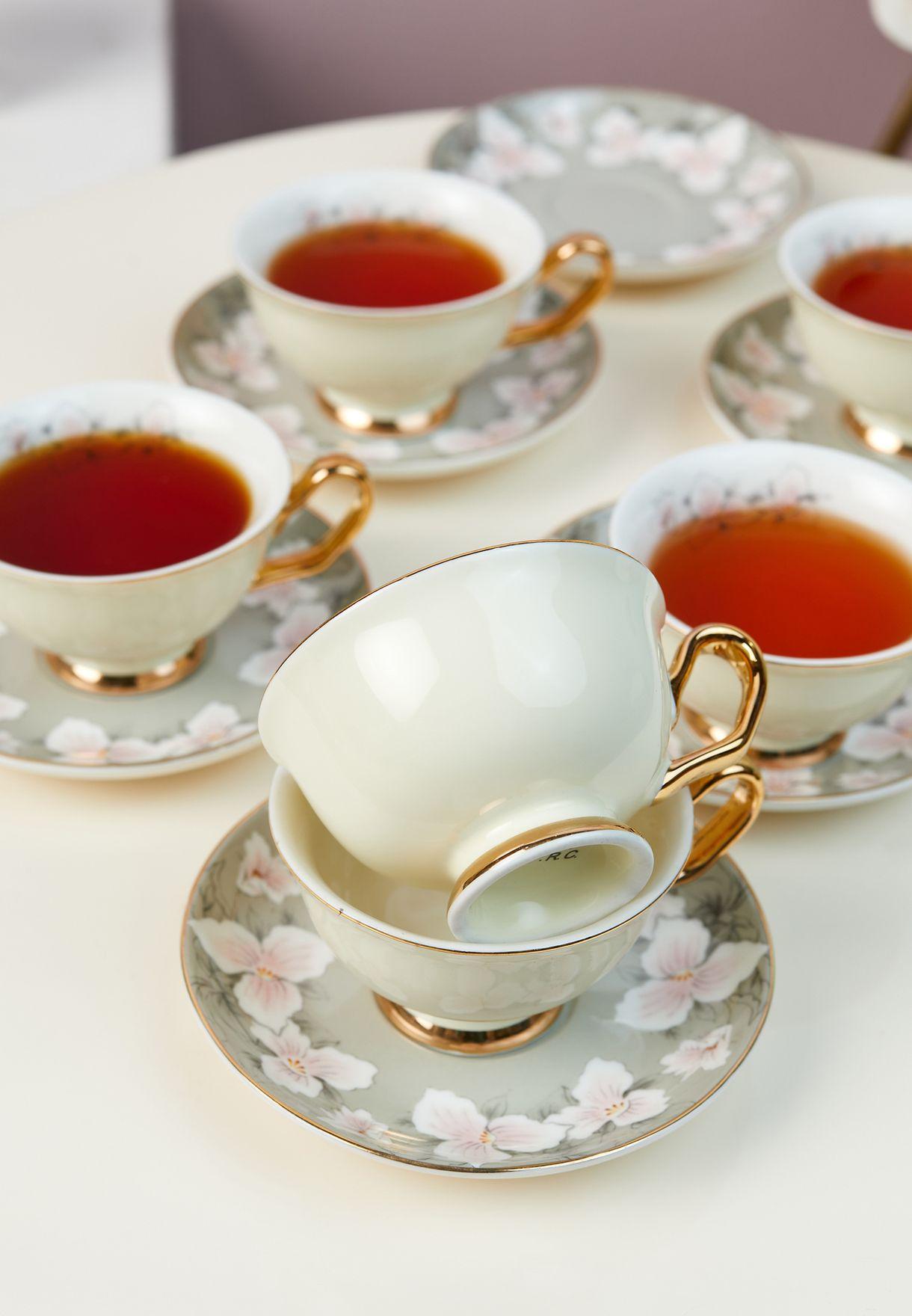 Floral Tea Set