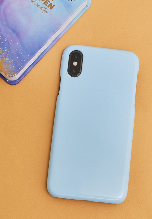 Block Blue iPhone X/XS/XS Max/XR Case